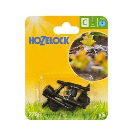 5 x Hozelock 2786 In Line Adjustable Mini Auto Water Sprinkler Micro Irrigation