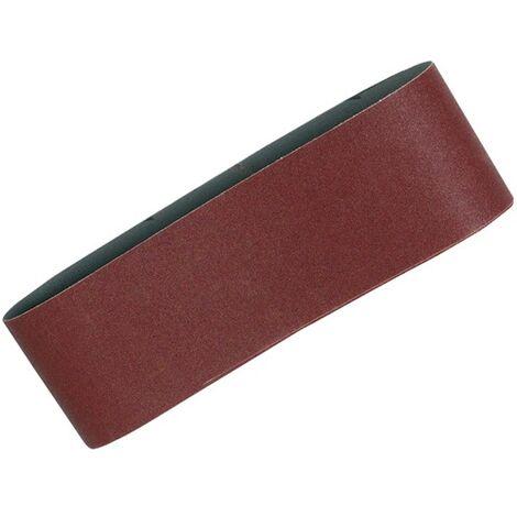 "main image of ""5 X Makita 120 Grit Medium 76mm x 457 3"" Belt Sander Sanding Belts for 9911 ++"""