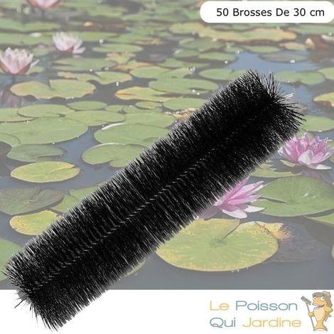 50 brosses de filtration 30 cm pour filtre de bassins de jardin