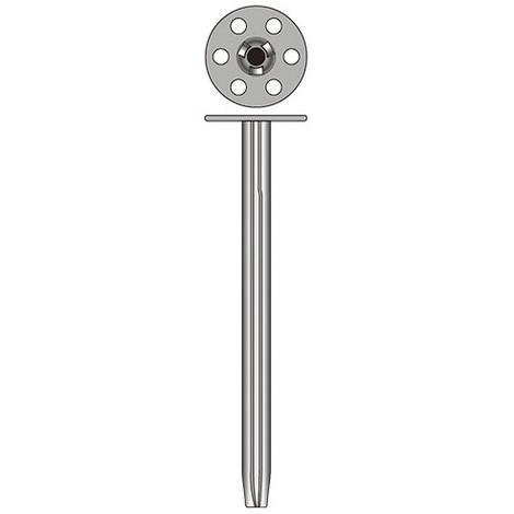 50 chevilles métalliques isolation ISO M D. 8 x Lt. 140 mm - Fixtout - -