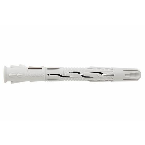 50 chevilles nylon universelle 8 x 80 mm - TNUX08080 - Index - -