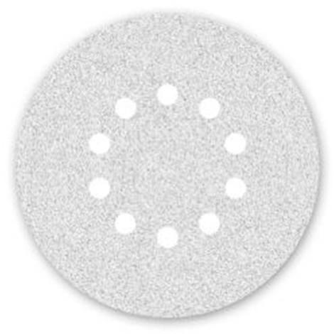 50 disques papier corindon auto-agrippant 10 trous PS 33 CK D. 225 mm Gr 100 - 302045 - Klingspor