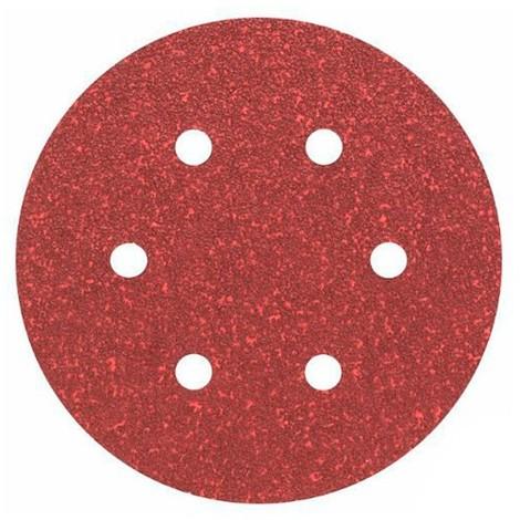 50 disques papier corindon auto-agrippant 6 trous PS 22 K D. 150 mm Gr 400 - 128356 - Klingspor