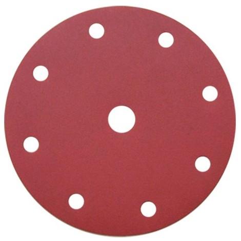 50 disques papier corindon auto-agrippant 8 trous + 1 central PS 22 K D. 150 mm Gr 400 - 129389 - Klingspor