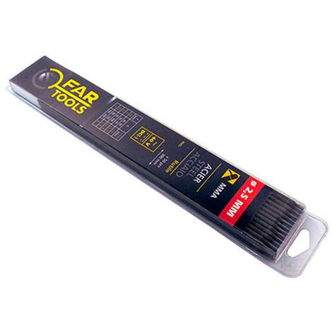 50 eléctrodes baguette rutile 2,5 x 300 mm - -