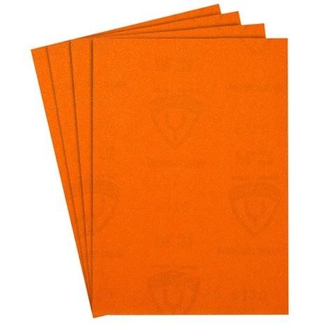 50 feuilles/coupes papier corindon PL 31 B 230 x 280 mm Gr 400 - 2057 - Klingspor