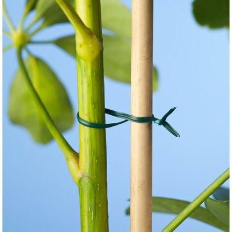 50 fils de fer plastifiés verts 0.8 mm de diametre