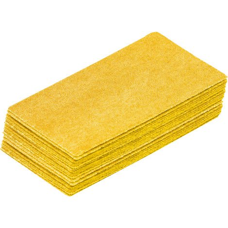 50 garnitures cale corindon jaune 120 g - l'outil parfait