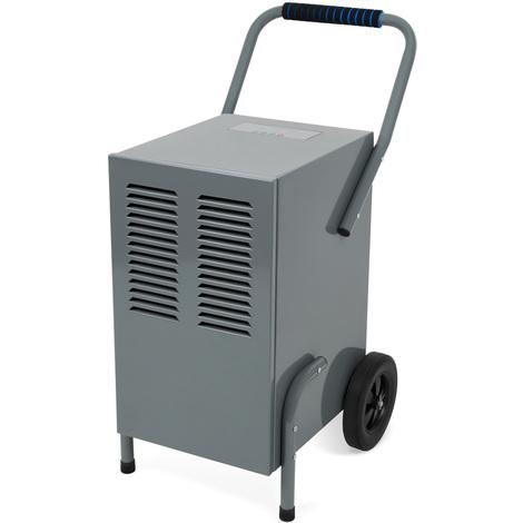 50 L Déshumidificateur dair (850 Watt, 50 Litres par jour, Affichage numérique, Arrêt automatiquek, Réservoir de réception) Sécheur de chantier