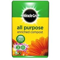 50 Litres Garden Compost All Purpose Scotts Miracle Gro All Purpose Compost