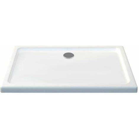 50 mm Duschtasse Rechteck aus Acryl