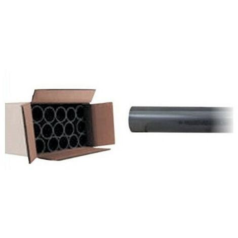 ø 50 mm - Juego de 15 tubos rígidos de presión de PVC de 1 metro de longitud