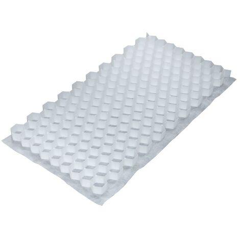 50 Panneaux blancs stabilisateur de graviers Gravel Fix Smart - 80 x 40 cm - 15 m²
