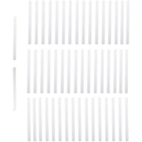50 piezas de barras de pegamento termofusible, longitud 10cm, diametro 0,7cm