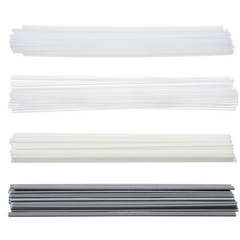 50 piezas PVC PVC ABS PP PE varillas de soldadura para herramienta de soldador