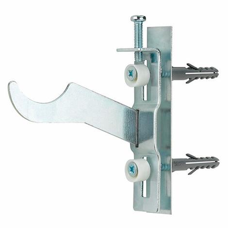50 supports radiateurs aluminium ferroli incliné 100 mm - RAFIN100 - Index - Autre -