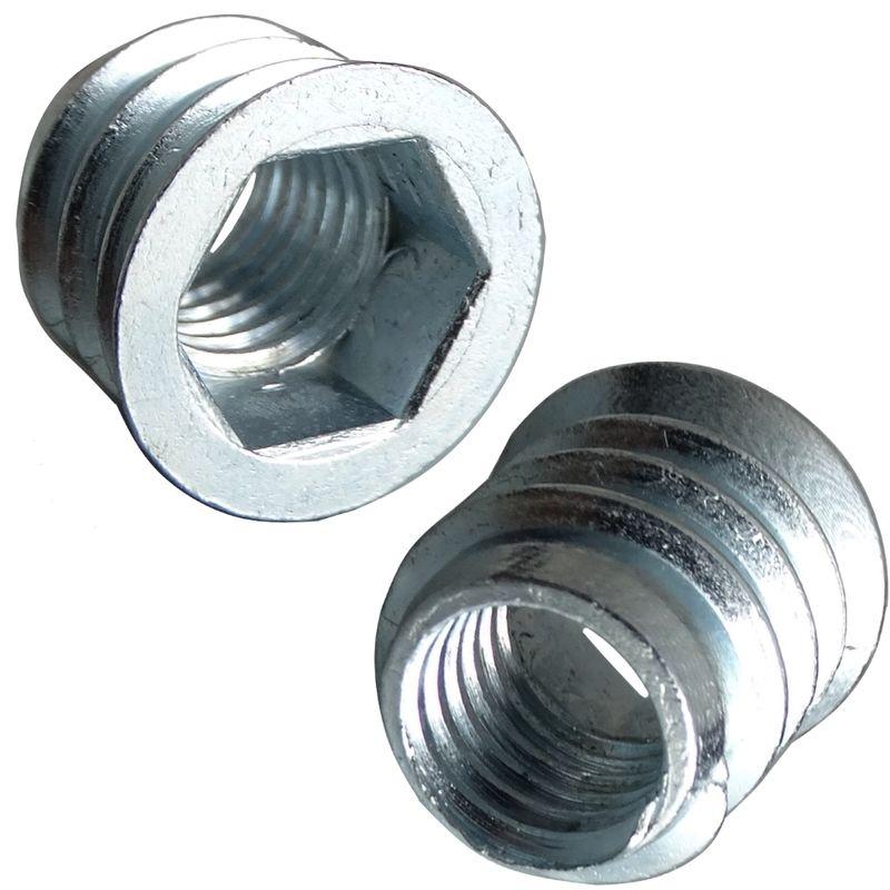 Boulon à tête hexagonale 1//2-20 unf x 5 grd.5 galvanisé-Hex Head Cap screw
