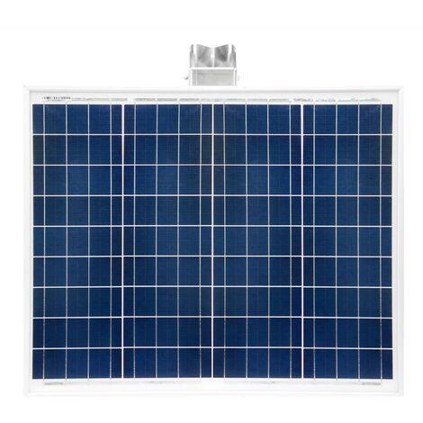 50 Watt Inselanlage mit Halterung 600 W Spannungswandler Solar Basis Set Garten