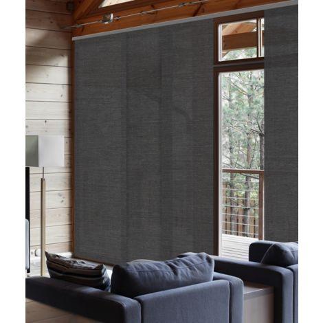 50 x 250cm(L x H) - Panneau Japonais Tamisant Motifs 50cm - Chevrons gris