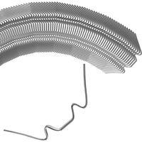 50 x Greenhouse Glazing Clips Wire W Clip Stainless Steel