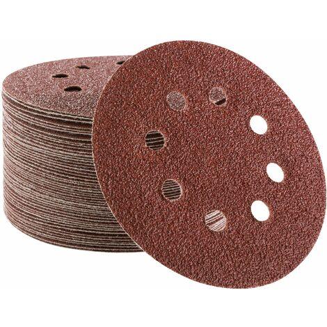Ø225mm Velcro Meules p180 Papier Abrasif Meuleuse de construction à meule Ponceuse
