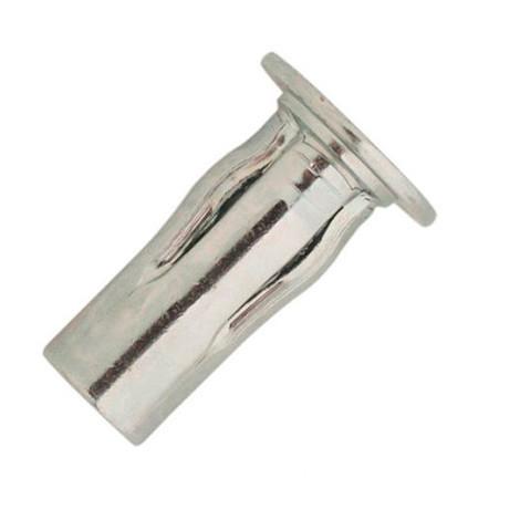 500 écrous à sertir étoilés multiserrage acier zingué TP, D. M5 x 22 mm - UCD05045-BC - Scell-it