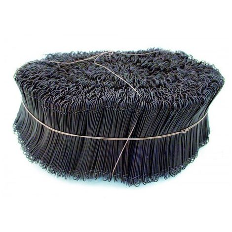 5000 PCS OF ANNEALED LOOP TIE WIRE - Ø 1,1 x 120 mm