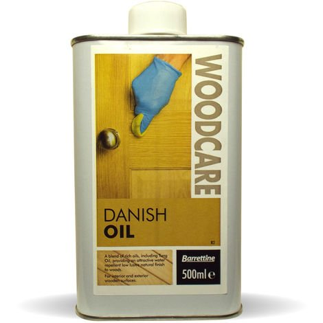 500ml Danish Oil for wood and worktops natural blend of food safe oils