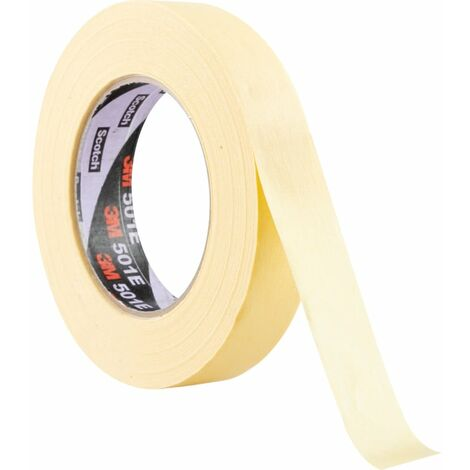 501E Speciality Cream Masking Tapes