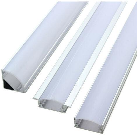 50cm Aluminum Rigid Shell for 5050 5630 7020 LED Strip strip