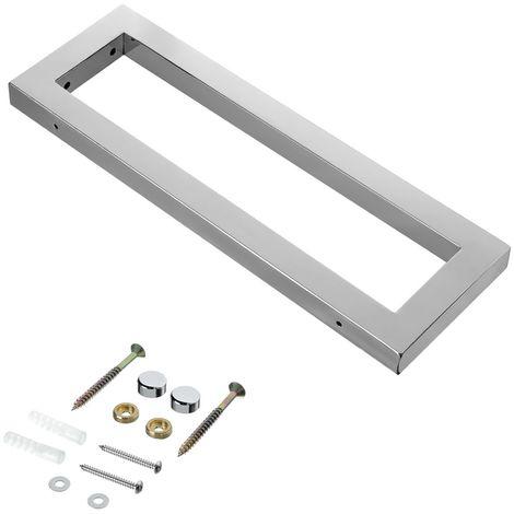50CM Soporte para lavabo de acero inoxidable Lavabo Consola para lavabo Placa para lavabo