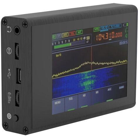 50KHz-200MHz malachite SDR radio a ondes courtes bruit Logiciel Rreduction Defined Radio Recepteur avec 3,5 pouces touchant l'ecran tactile