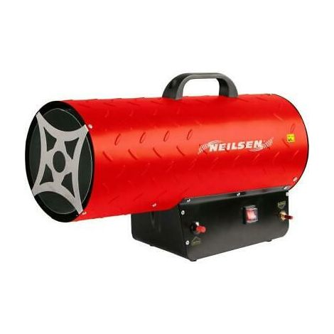 50KW LPG Gas Propane Space Heater with Hose & Regulator