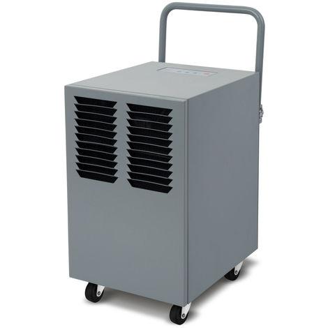50L Déshumidificateur Dehumidifier dair (550 Watt, 50 Litres par jour, Affichage numérique, Arrêt automatiquek, Réservoir de réception, Poignée de transport pratique)
