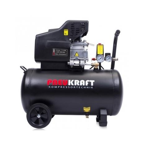 50L Druckluftkompressor Kolben Kompressor Luftdruckkompressor 8bar