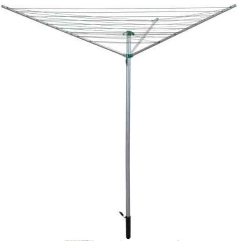 50m 4 Arm Rotary Clothes Airer