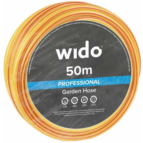 50M Professional Grade Reinforced Garden Hose