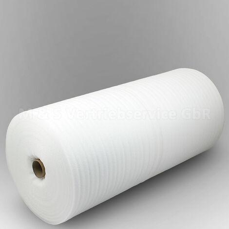 50m² Trittschalldämmung 2mm PE-Schaumstofffolie Dämmunterlage Laminat Parkett