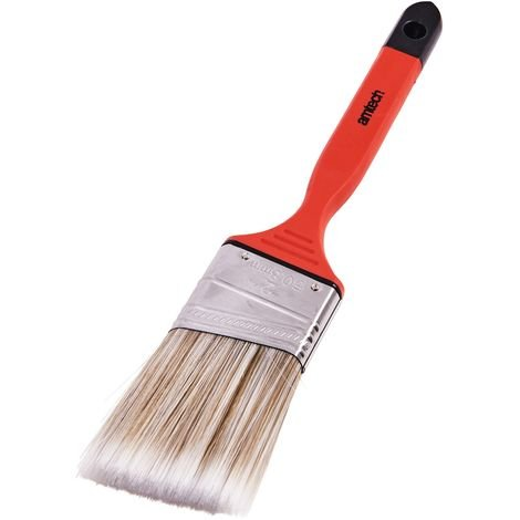 "50mm (2"") No Bristle Loss Angled Brush - Soft Handle"
