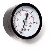 50mm Manomètre pression pour réservoir pump axial 12.9mm 0-10bar / 0-140PSI