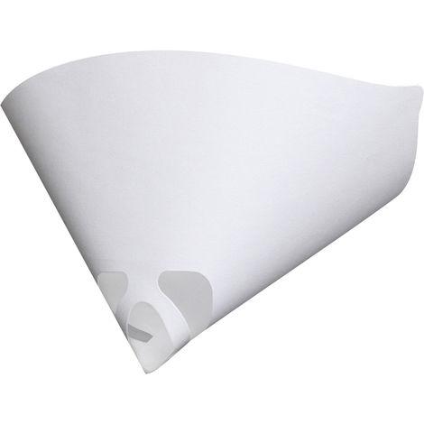 50pcs Colander Funnel Paint Filter Strainers Cone 100 Mesh Nylon Paper Hasaki