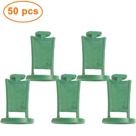 50PCS greenhouse clips stable plant holder hanging devices eyelets for greenhouse plastic clip