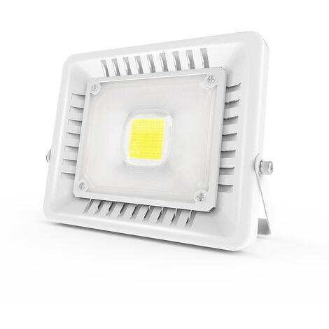 50W 4500LM LED Floodlight Super Bright Outdoor Work Light IP65 Waterproof Outdoor White Floodlight