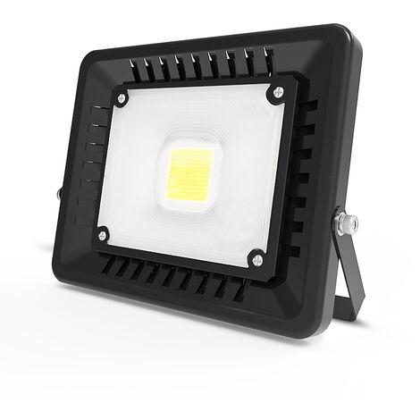 50W 4500LM Super Slim LED Floodlight IP65 Waterproof Outdoor Lighting White Security Light