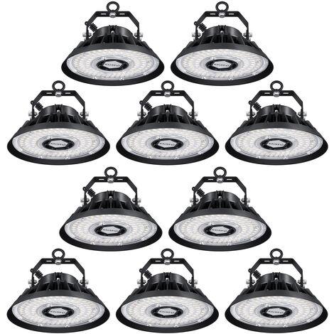 50W 6000LM IP66 Floodlight LED Foco Proyector LED para Exterior Iluminación Decoración, SMD 3030 Blanco Cálido