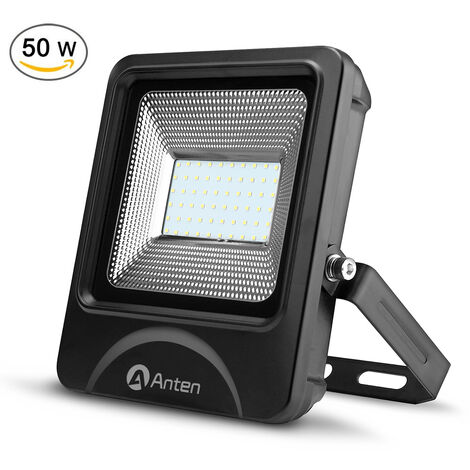 50W 6000LM IP66 SMD 3030 White LED Floodlight Outdoor Security Lighting High Power Spotlight