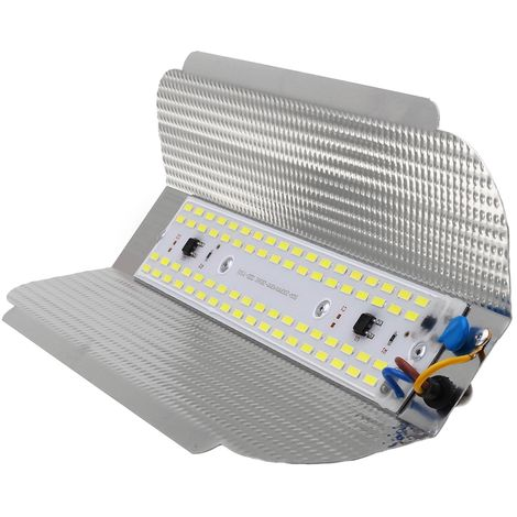 50W 68LED Floodlight Lamp Outdoor Garden Lighting White IP65