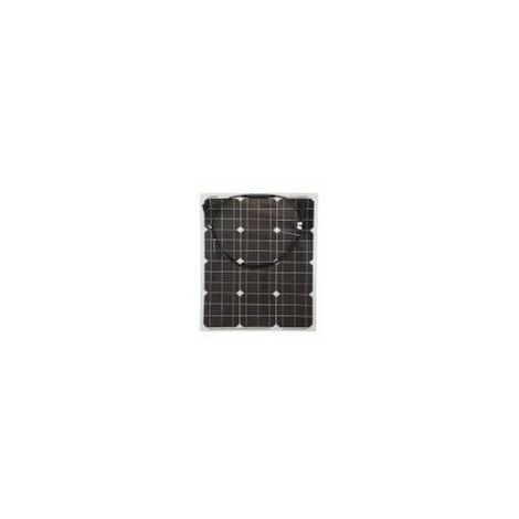 50w Flexi Solar Panel Photo-voltaic for boat caravan home in white