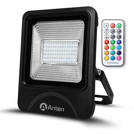 50W IP66 SMD 3030 RGB LED Floodlight Outdoor Security Lighting High Power Spotlight