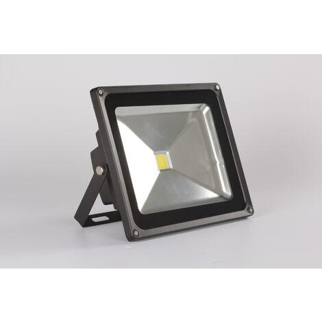 2X 200W LED Fluter Kaltweiß Außen-Strahler Leuchte Scheinwerfer Flutlicht IP65